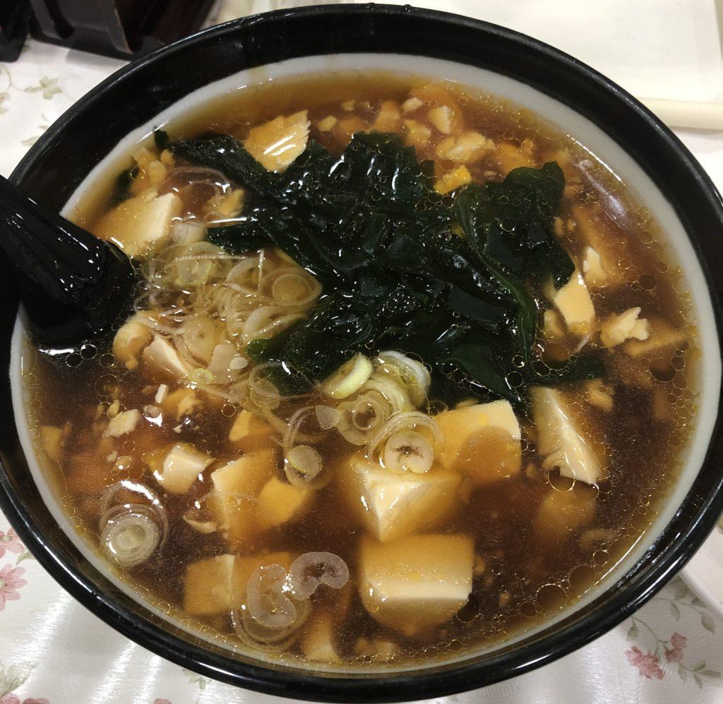 豆腐ラーメン画像